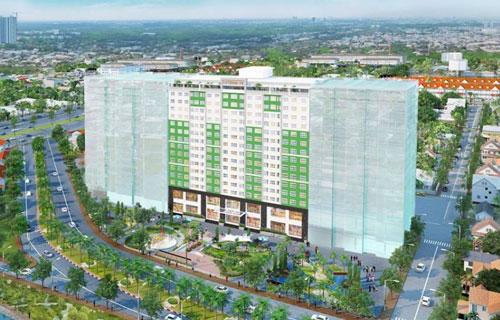 Căn hộ Duplex Citizen Trung Sơn
